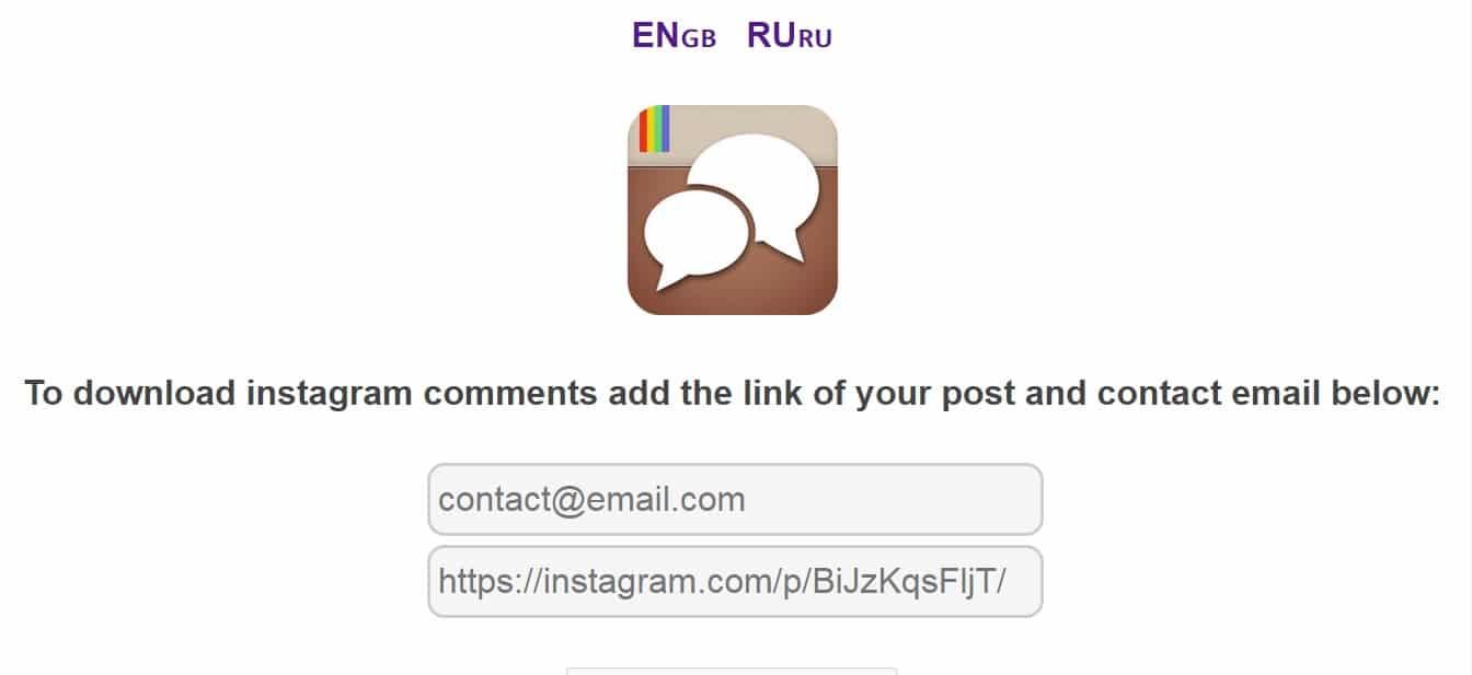آموزش قرعه کشی در اینستاگرام در سایت getcombot