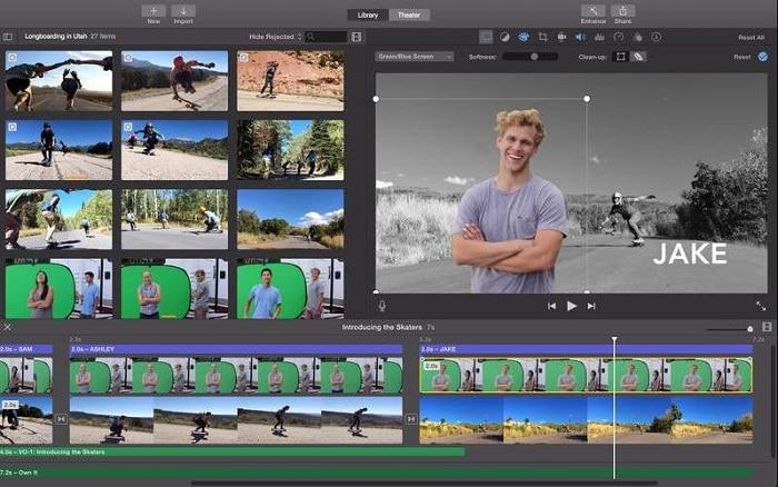 نرم افزار Apple iMovie در ویدیو مارکتینگ