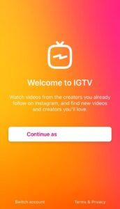 برنامه IGTV