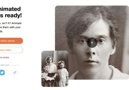 آموزش برنامه myHeritage